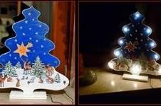 Makerist - Weihnachtliche Leuchtdeko 2 in 1 - 1
