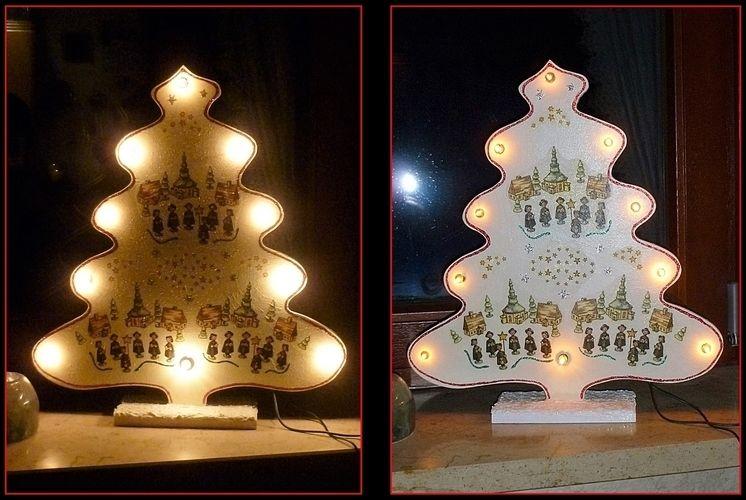 Makerist - Weihnachtliche Leuchtdeko 2 in 1 - DIY-Projekte - 2