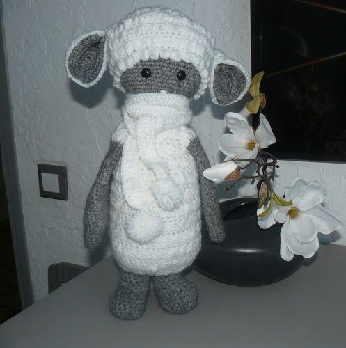 Makerist - Le mouton tout doux en habit d'hiver - Créations de crochet - 2