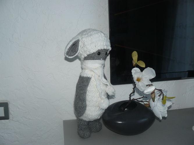 Makerist - Le mouton tout doux en habit d'hiver - Créations de crochet - 3