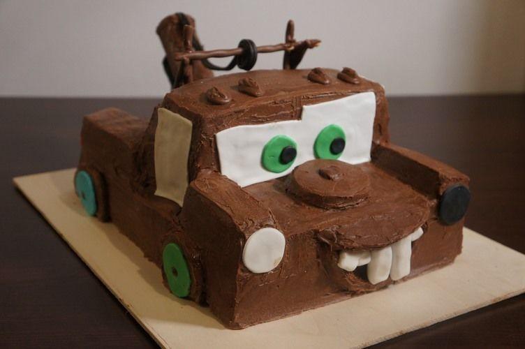 Makerist - Hook (Disneys Cars) Kindergeburtstags Torte - Torten, Cake Pops und Cupcakes - 1