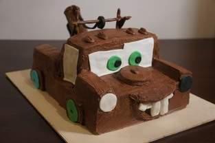 Hook (Disneys Cars) Kindergeburtstags Torte