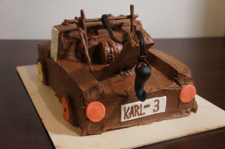 Makerist - Hook (Disneys Cars) Kindergeburtstags Torte - Torten, Cake Pops und Cupcakes - 2