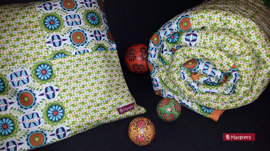 Makerist - Kuscheldecke mit Kissen - Nähprojekte - 2