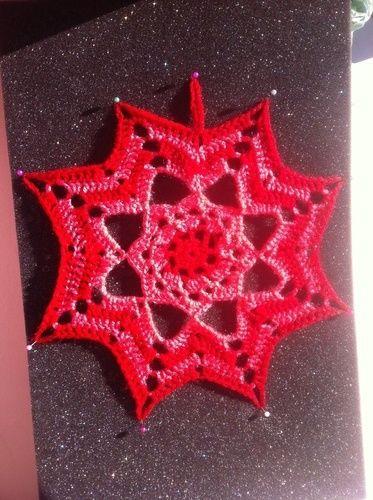 Makerist - Étoile de Noël  - Créations de crochet - 1