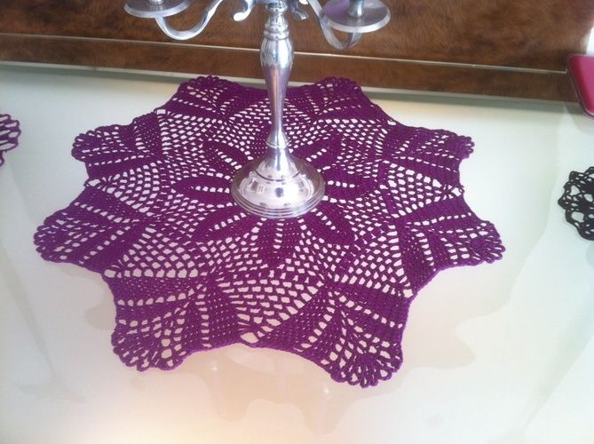 Makerist - Tischdekos in allen farben - Häkelprojekte - 2