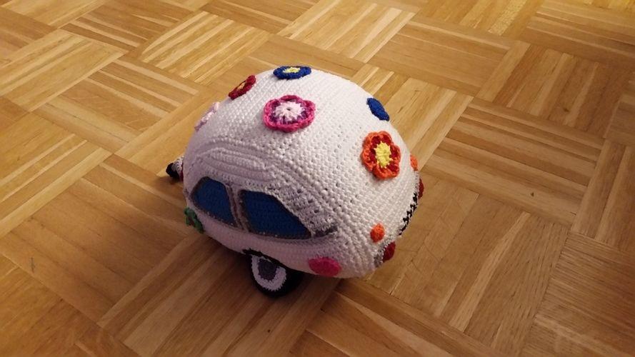 Makerist - Lustiger Wohnwagen - Häkelprojekte - 2