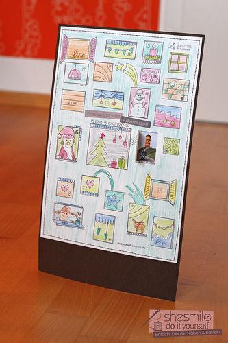 Makerist - Bildertürchen Adventskalender - DIY-Projekte - 1