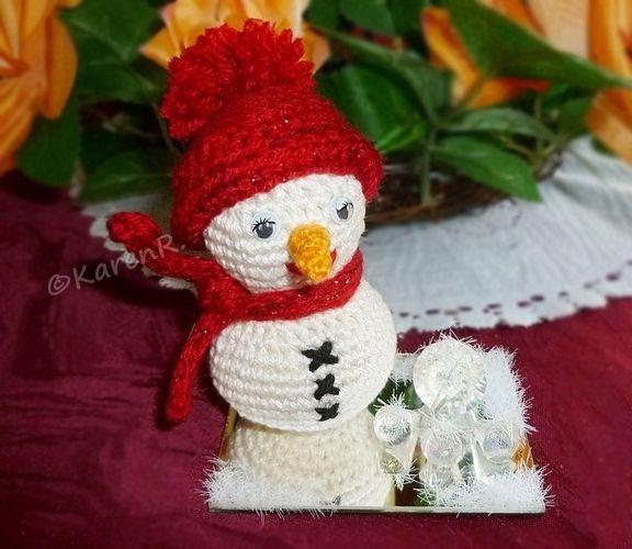 Makerist - Snowie on ice... - Häkelprojekte - 1