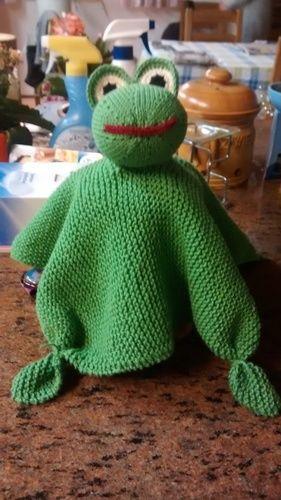 Makerist - Schmusetuch Frosch  - Strickprojekte - 1