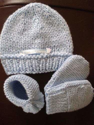 Makerist - Ensemble naissance - Créations de tricot - 1