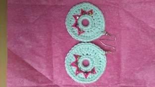 Makerist - Boucles d'oreilles au crochet  - 1