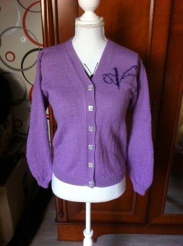 Makerist - Le gilet de Violetta tricoté main - Créations de tricot - 2