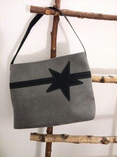 Makerist - Kleine Handtasche mit Stern  - Nähprojekte - 1