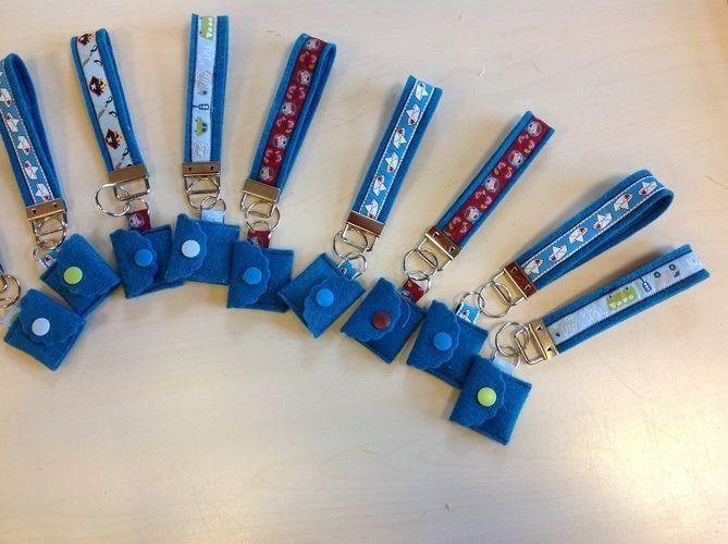 Makerist - Schlüsselanhänger mit Chiptäschchen  - Nähprojekte - 2