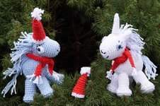 Makerist - Einhorn Santa + Claus - 1