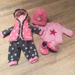Baby Annabell Herbst-/Winterkollektion aus Kuschelsweat