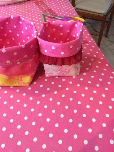 Makerist - Paniers tissus  - Créations de couture - 1
