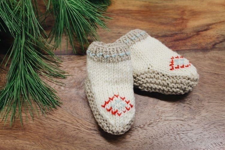 Makerist - Baby Mokassins - Strickprojekte - 2