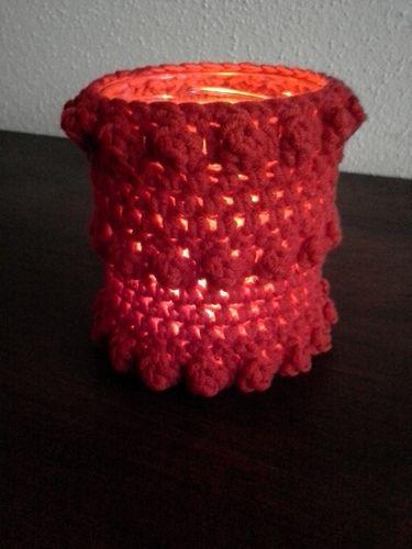 Makerist - Teelichthalter - Häkelprojekte - 1
