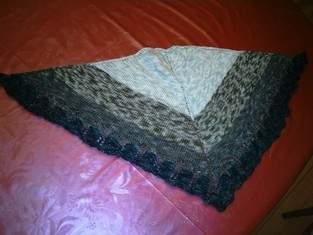 Makerist - Tuch, aus lanartus fine merino Art, für eine Freundin. - 1