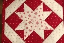 Makerist - kleiner Quilt mit Stern - 1