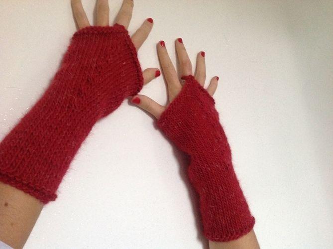 Makerist - Mitaines OPERA - tricot - Créations de tricot - 1