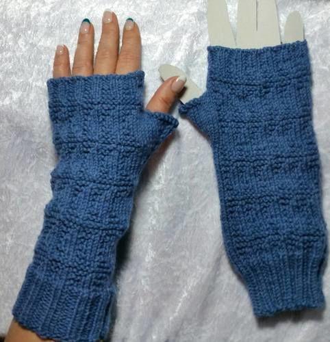 Makerist - Handstulpe Strukturmuster - Strickprojekte - 1
