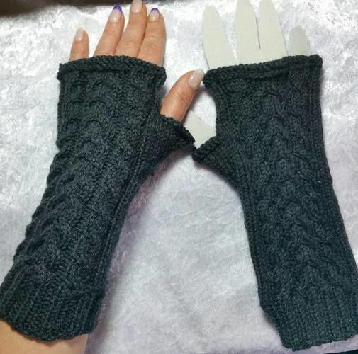 """Makerist - Handstulpe """"Gaby"""" - Strickprojekte - 1"""