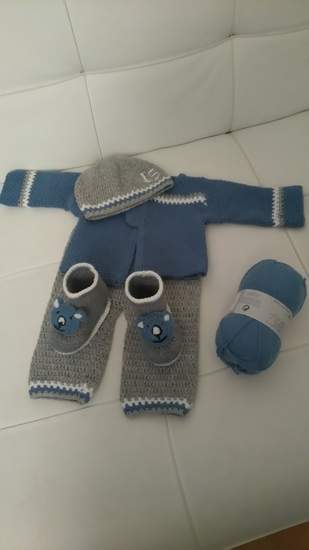 Makerist - Ensemble naissance baby boy  - 1