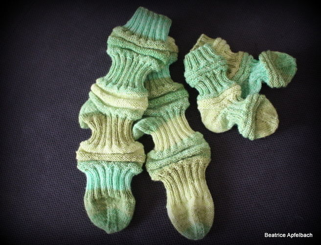 Makerist - Mojo-Socks für Mama und Baby - Strickprojekte - 1