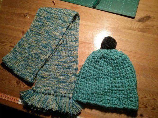 Makerist - Mütze une Schal - Strickprojekte - 1
