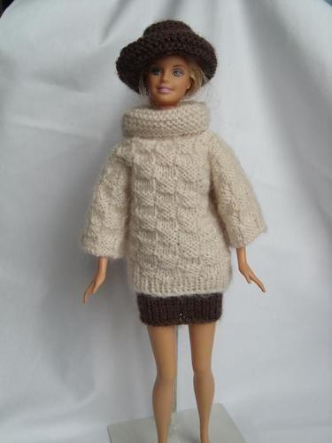 Makerist - vêtements tricotés pour poupées mannequin - Créations de tricot - 1