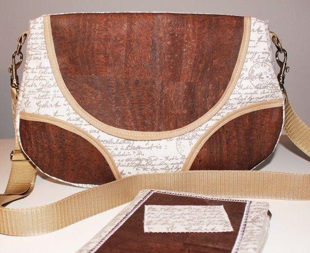 Makerist - Tasche Schnabelina mit Korkstoff  - Nähprojekte - 1