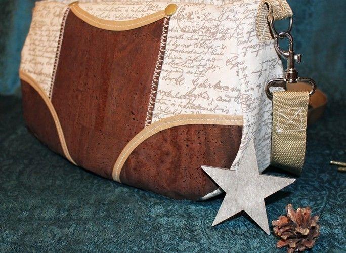 Makerist - Tasche Schnabelina mit Korkstoff  - Nähprojekte - 2