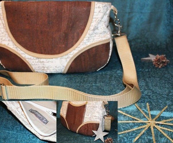 Makerist - Tasche Schnabelina mit Korkstoff  - Nähprojekte - 3