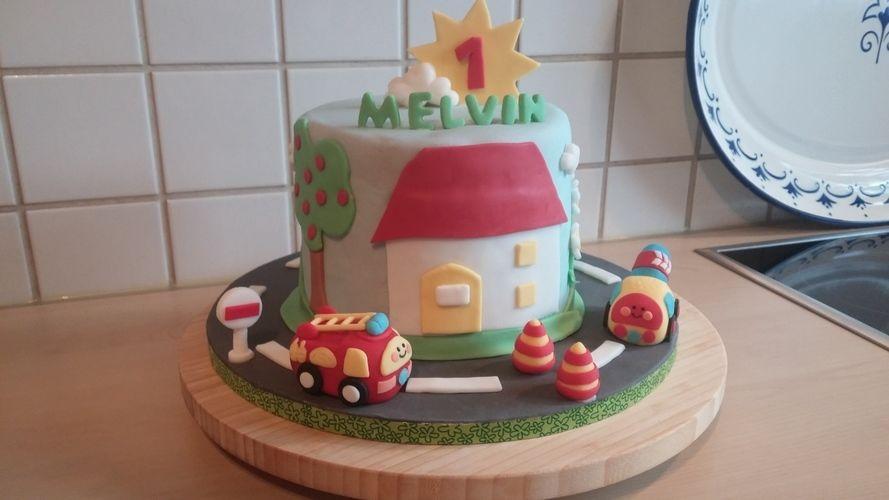 Makerist - Flitzer tüt Torte für Melvin - Torten, Cake Pops und Cupcakes - 1
