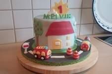 Makerist - Flitzer tüt Torte für Melvin - 1