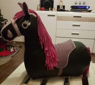 Makerist - Reittier Pferd ... aus Leder , Jersey und Baumwolle. .. für meine Tochter 2 kommt unter den Weihnachtsbaum 😊 - 1