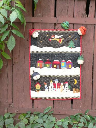 Makerist - Weihnachten - Patchwork-Projekte - 1