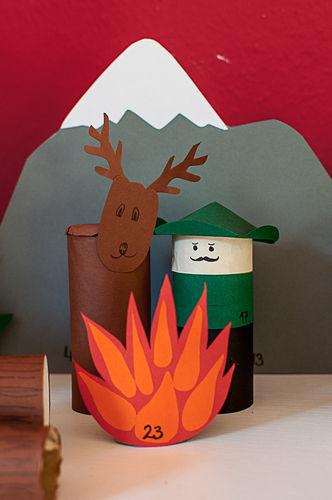 Makerist - Adventskalender Tiere im Wald - DIY-Projekte - 2