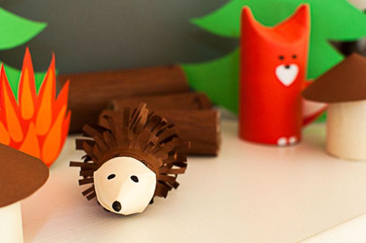 Makerist - Adventskalender Tiere im Wald - DIY-Projekte - 3