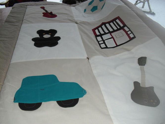Makerist - Baby Tagesdecke für Vadim - Nähprojekte - 2