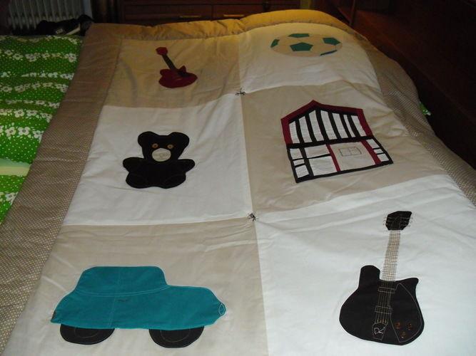 Makerist - Baby Tagesdecke für Vadim - Nähprojekte - 3