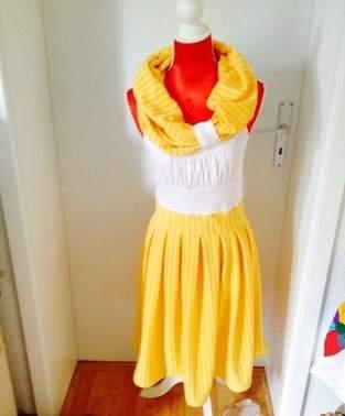 Das ist mein erstes Kleid