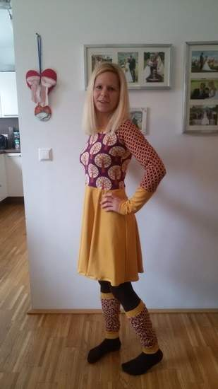 Kleid aus Jersey für mich