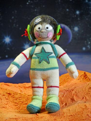 Makerist - Astronaut Eberhardt auf dem Mars - Strickprojekte - 1