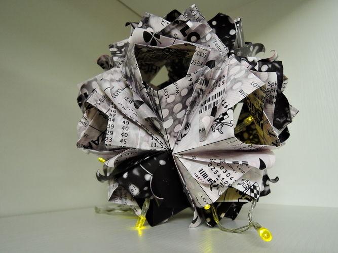 Makerist - LottoscheinBasteln...Papierfaltkunst...aus Lottoquittungen - DIY-Projekte - 1