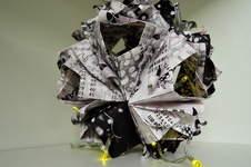 Makerist - LottoscheinBasteln...Papierfaltkunst...aus Lottoquittungen - 1