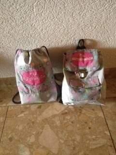 Rucksack für Kindergarten mit Turnbeutel
